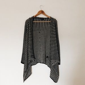 Knit Cardigan Wrap